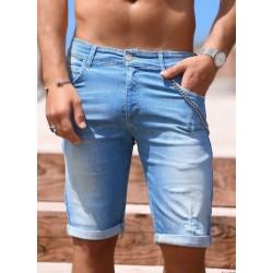 Jeans Short Light Blue